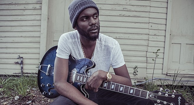 Gary Clark Jr. is good for that thousand-yard bluesman stare, and his voice carries so much discomfort it almost hurts to listen to.