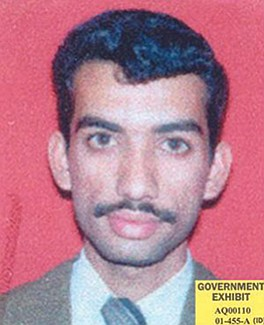 Aziz Ali — financier for Al-Qaeda who wired money to hijackers and made their travel arrangements.