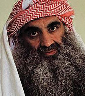 Khalid Sheikh Mohammed — known as KSM, uncle of Aziz Ali, known as the mastermind of the 9/11 attacks.