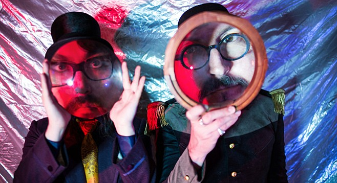 Psycho-delic duo Claypool Lennon Delirium drops in on Observatory North Park Wednesday night.