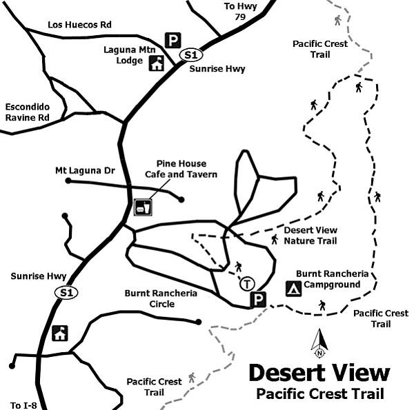 Desert View, Pacific Crest Trail