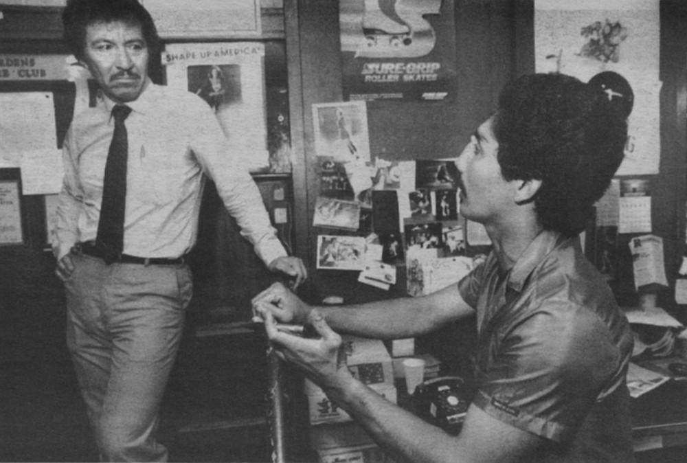 Frank Carillo with Eric Bonilla