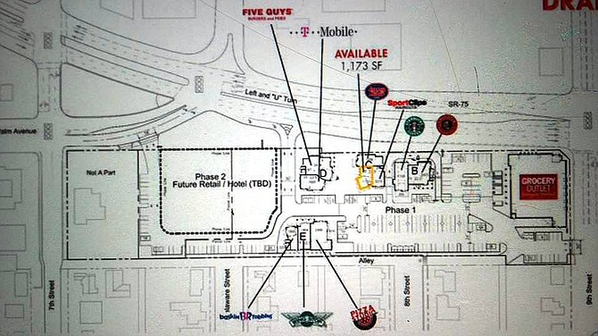 Future Retail Hotel Tbd Has Long Been On The Map For Phase 2 Area Of Ping Center Plan