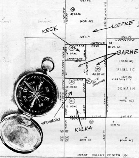 Map by Russel Redmond