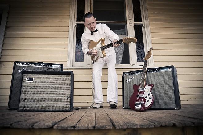 Award-winning Australian bluesman C.W. Stoneking sets up at Soda Bar Sunday night.