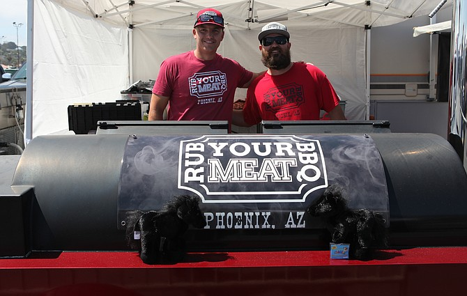 The guys from Rub Your Meat, People's Choice winner.