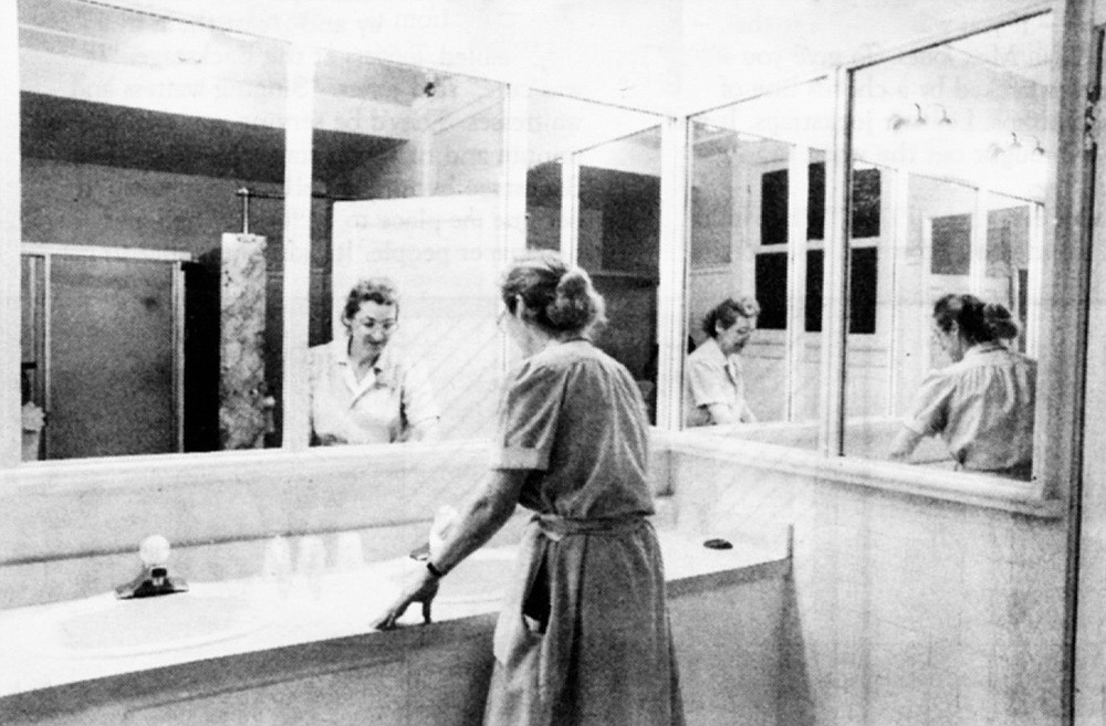 "The bathroom, Suite 264. ""They went back to 264. Maria refused to go inside with them. By then, the front desk had called hotel security. Maria had become hysterical."""