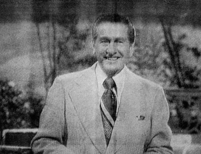 The first and only time I ever in fact watched Lawrence Welk's Saturday night whatsis was in New York like late '56, early '57, winter, my family had just been getting TV Guide.