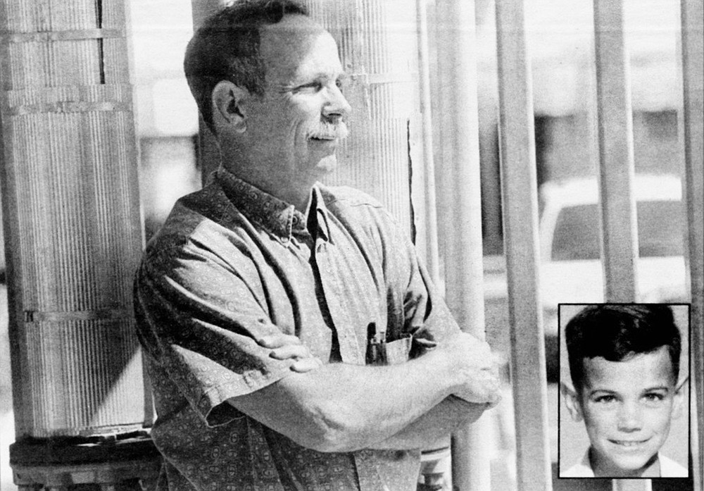 Bob Eisele; inset, Eisele in 1955