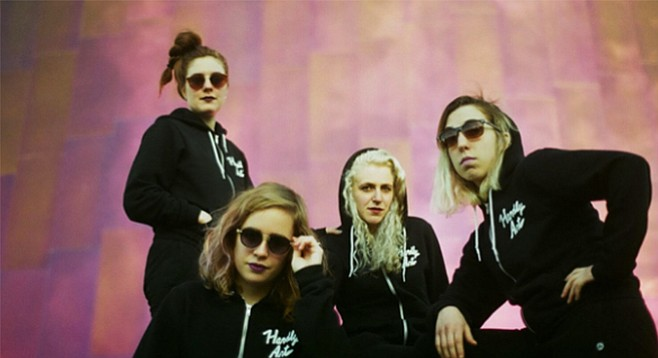 "Beyond our beaches and burritos, Chastity Belt would really like it if we learned the words to ""Cool Slut"" and ""Seattle Party."""