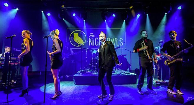 Good as Gold, Austin soul-rockers the Nightowls split a bangin' bill with garage-wreckers the Schizophonics at Soda Bar Sunday night!