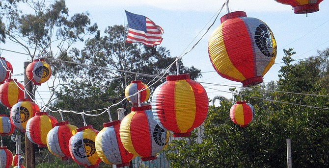 OBON!  July 31st @ the Buddhist Temple of San Diego (2929 Market St.) from 4:30PM to whenever.  AND  Saturday, August 6th @ the Spreckels Organ Pavilion from 10:00 AM to 9:00PM.