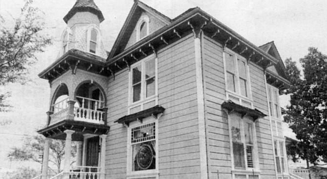 Frank Kimball House and Museum. National City was incorporated in 1887 and within a few years was dotted with ornate Victorian homes. - Image by Sandy Huffaker, Jr.