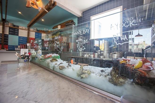 Beerfish interior