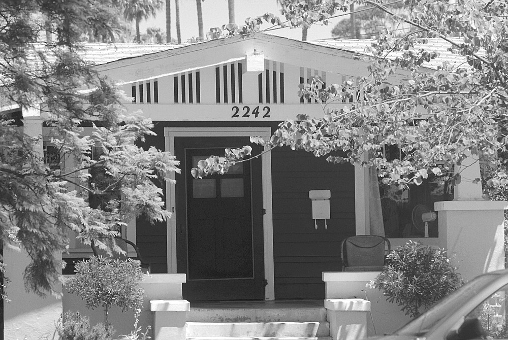 2242 Adams Avenue. Even the architecturally challenged can spot Craftsman bungalows.