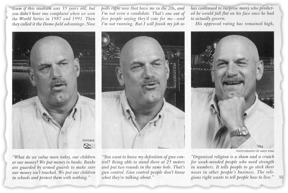 From November 1999 Playboy. His controversial interview was littered with SEAL but not UDT references.