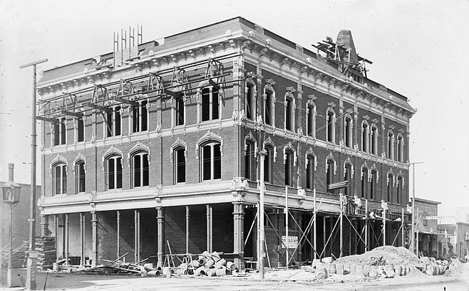 """6th and H (Market) Streets, where St. Joseph's Dispensary opened a five-bed facility in 1890. """"The community was bigoted."""""""