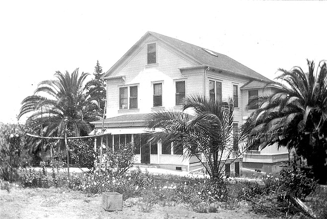 """The Big House at Mt. Carmel Ranch. """"Throughout 1905-1945, the most consistent focus was to provide milk and vegetables for patients at Mercy Hospital."""""""