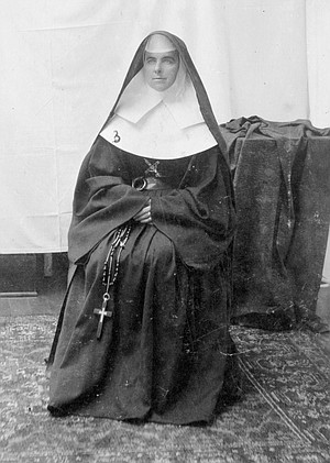 Sister Reagan, one of the founding Sisters of Mercy.
