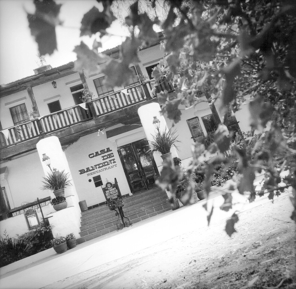 Casa de Bandini, Old Town. Juan Bandini built the original single-story adobe house in 1829.