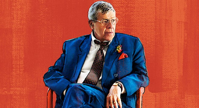 Jerry Lewis as Max Rose, a role he was bored...born to play.