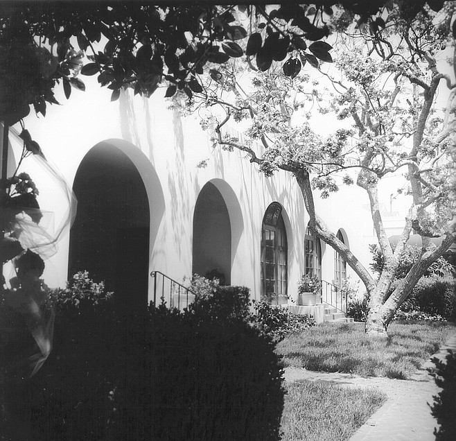 La Jolla Woman's Club. Two of Gill's greatest designs are in La Jolla: the Bishop's School and the La Jolla Woman's Club.