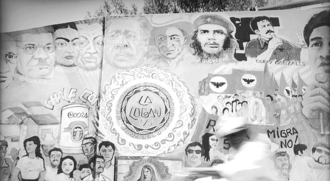 Surrounding Chicano Park are vivid Mexican murals, covering the otherwise imposing pillars of the Coronado bridge.