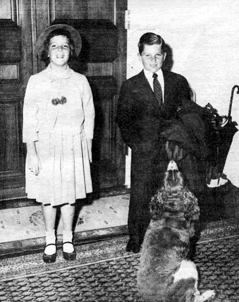 Janice and Michael, 1957