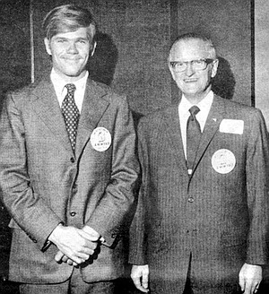Michael and James, 1971
