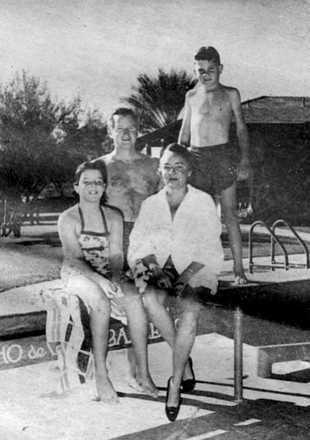 Janice, James, Jean, Michael, 1957