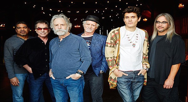 """The second set saw things heat up during the song that got John Mayer into the Grateful Dead a few years ago, """"Althea."""""""