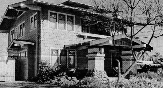 """3505 28th Street. """"Dryden's bungalows have an Oriental flare."""""""