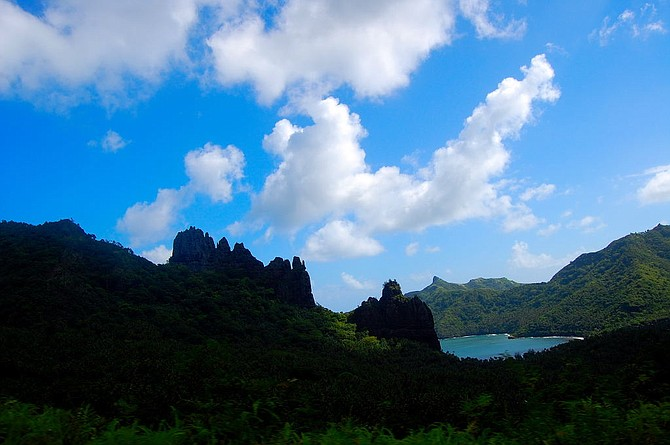 """Nuku Hiva, where Herman Melville jumped ship and his first novel, """"Typee"""", was set, published 160 years ago."""