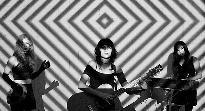 That reverb-drenched psych-surf trio L.A. Witch hits the Hideout on Tuesday.