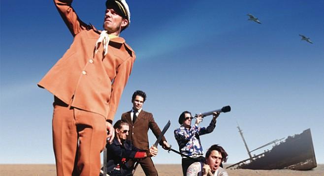 Salton Sea's sailor-rock quartet Throw Rag reunites for three SoCal shows this weekend!