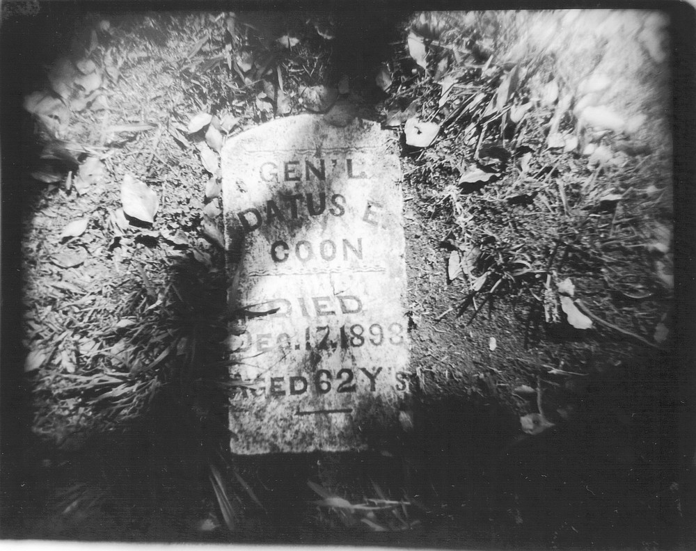 Coon's grave site. After he came to San Diego, General Coon was accidentally shot by a fellow Civil War veteran friend in 1893 and died the same evening.
