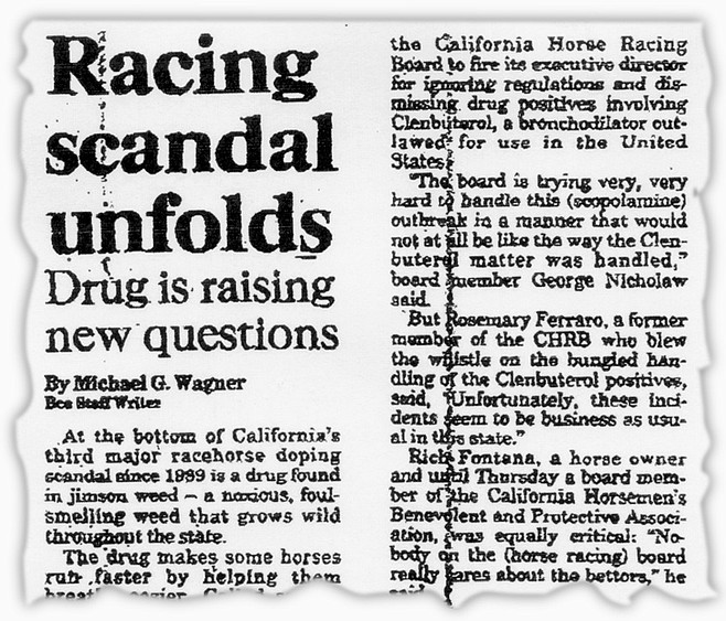From The Sacramento bee, June 24, 1994. Mandella today states that the Bee story was premature.