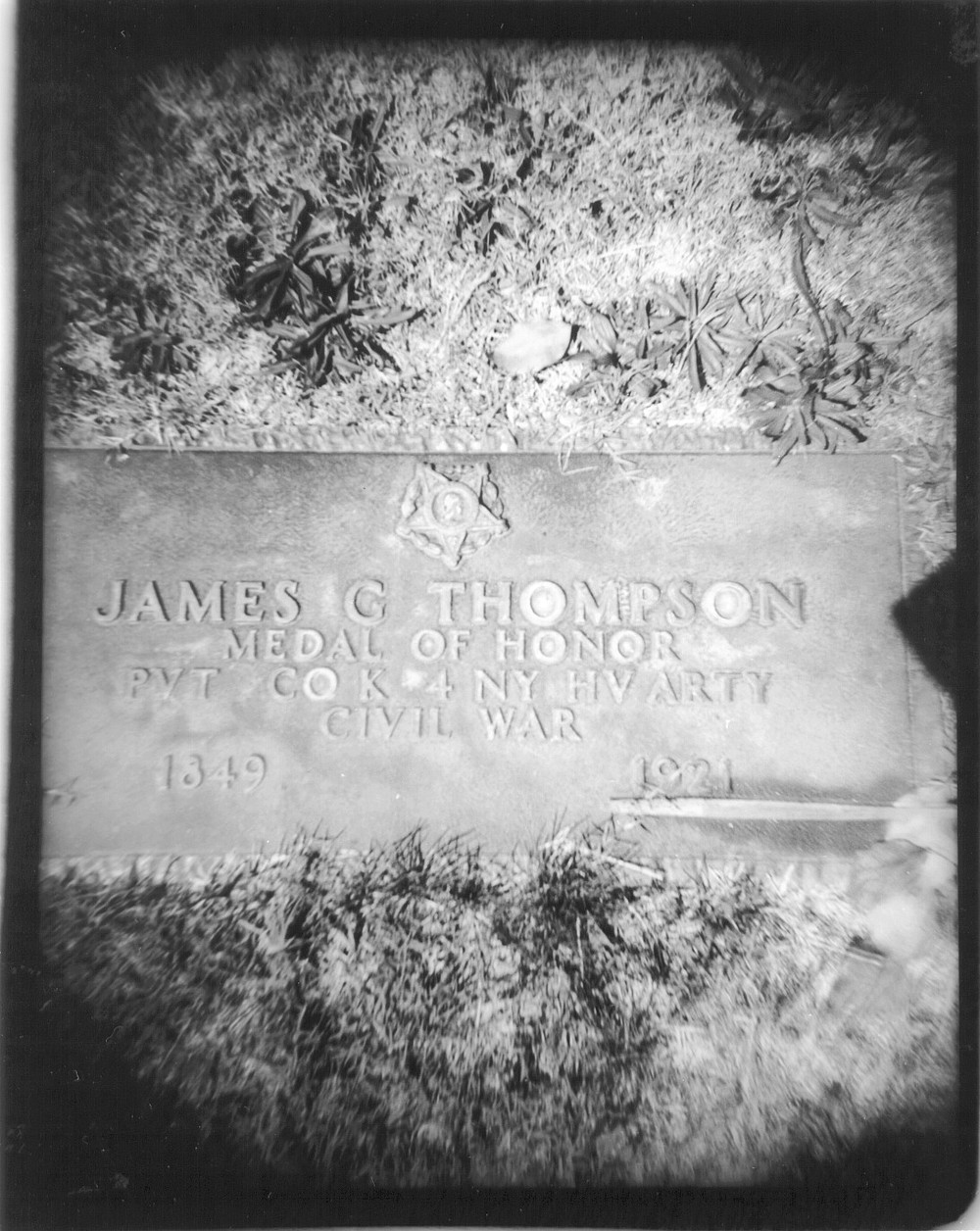 Thompson grave site (not mentioned in article)