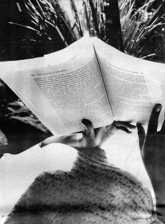 Cynthia reading