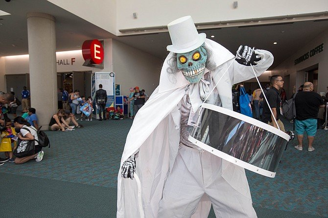 The Wedding Groom from Disney's Haunted Mansion.