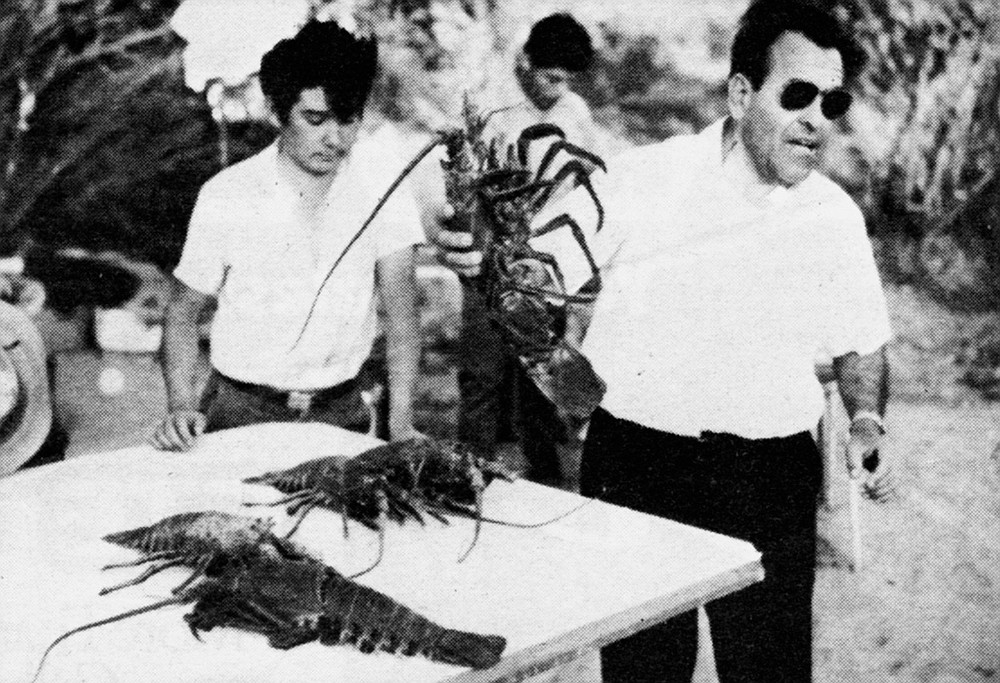 Muñoz and Gardner stopped at fishing camps to gossip with the Mexicans gathering lobster and catching totoaba.