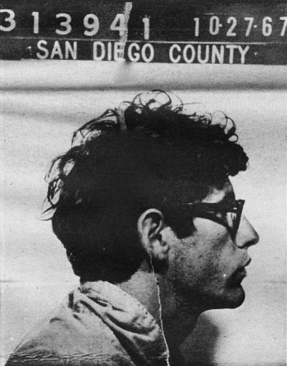Mugshot of a San Diego County Jail inmate