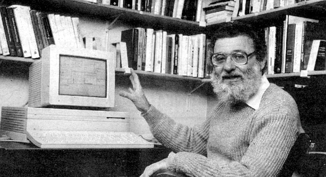 Donald Norman at UCSD, c. mid 1980s