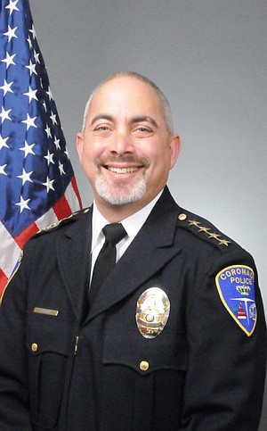 Coronado police chief Jon Froomin