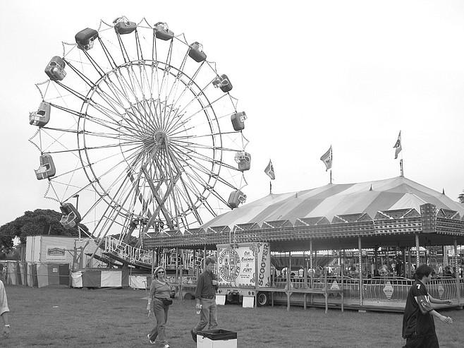 Ferris wheel at O.B.'s Oktoberfest