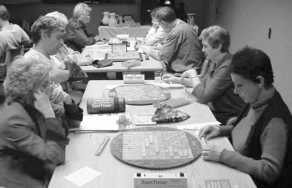 Players focusing on their games