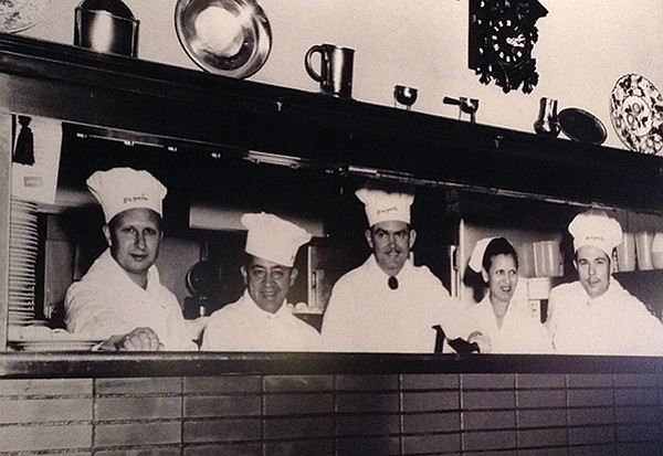 Chefs from the early years: famous for their pancakes