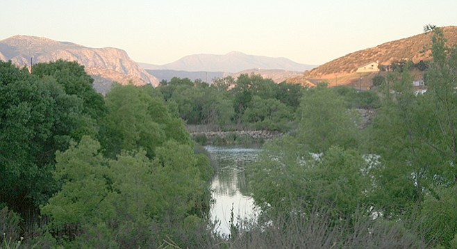 View of El Capitan and Cuyamaca Peak from Walker Trail