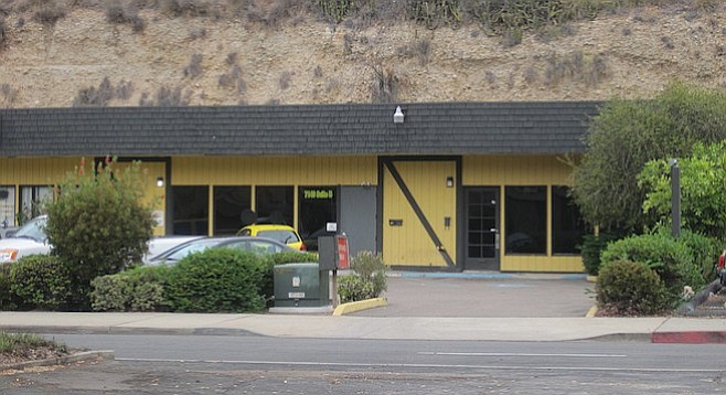 Two years ago, Natures Leaf Collective 2 and EliteMeds occupied 7140 University Avenue. Now, La Mesa's Finest and Exotic OG's dispense medications from the storefront.