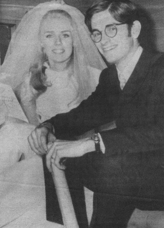 Betty and Dan's wedding day